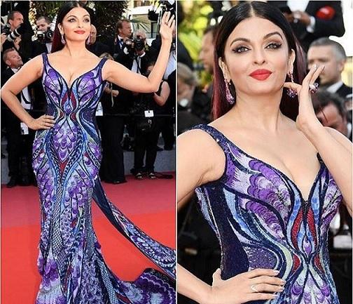 Aishwarya Rai at Cannes Photos