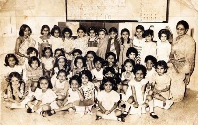 Childhood Pics of Aishwarya is adorable