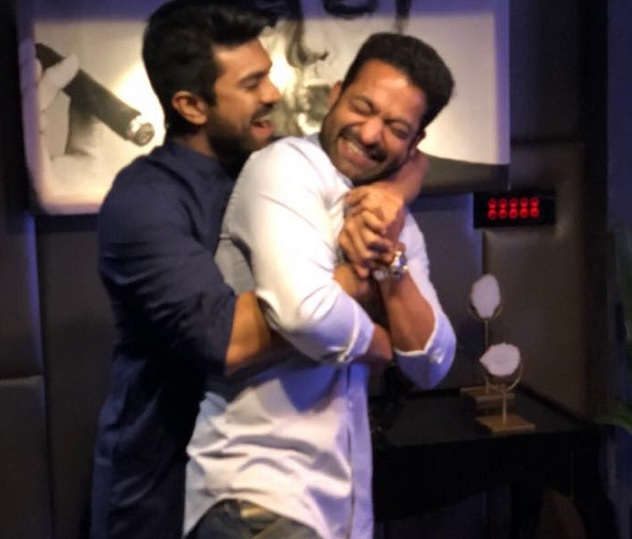 Pic Talk : Charan's Birthday wish for Jr NTR