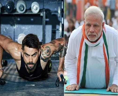 PM Modi To Virat Kohli: Challenge Accepted