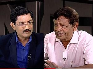 Ex-Home Minister Dr. M. V. Mysura Reddy in Encounter With Murali Krishna