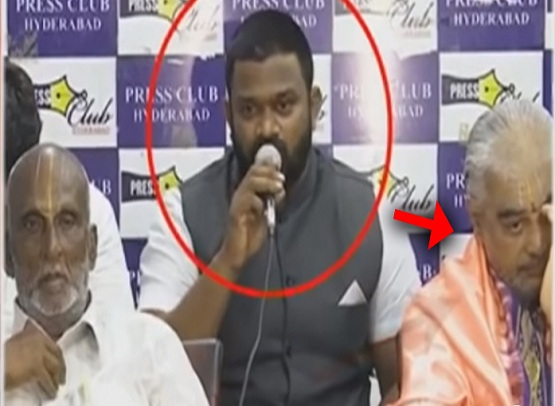 Christian Organisation Head Behind Ramana Deekshitulu?