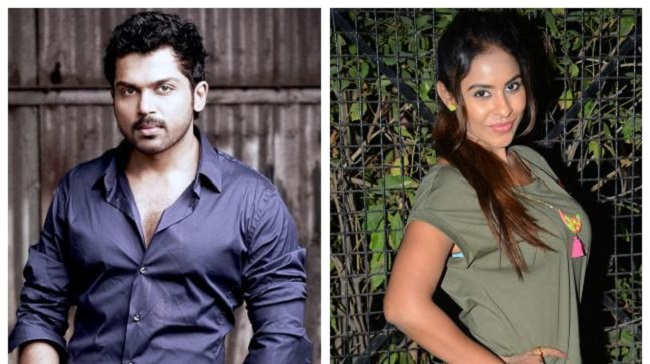 Karthi: Sri Reddy should have gone to police with proof