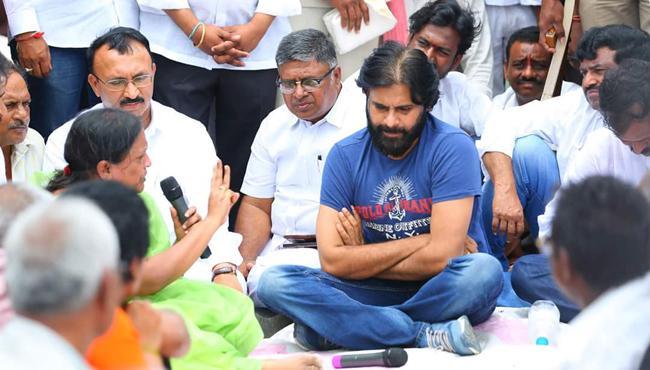 Pawan Seeks To Hijack YSRC Agitation!
