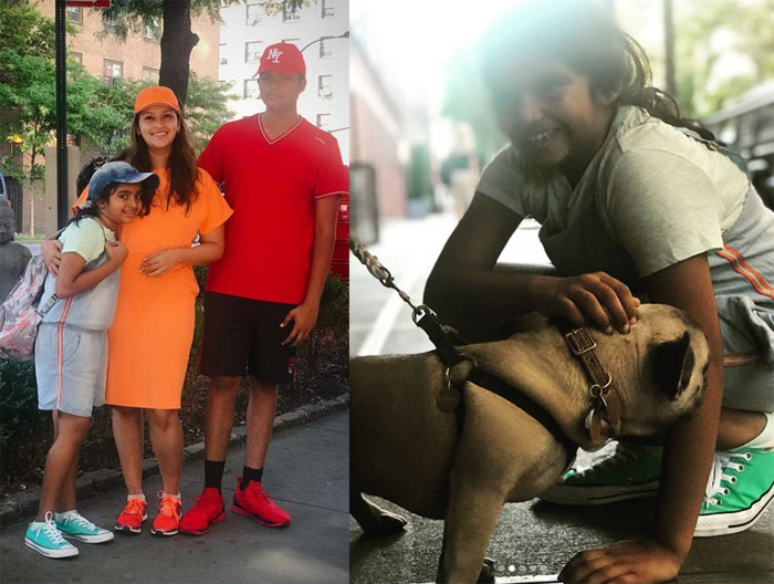 Renu Desai Holidaying With Family in Newyork