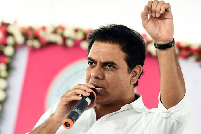 KTR Entrusted With Task Of Wooing Settlers!