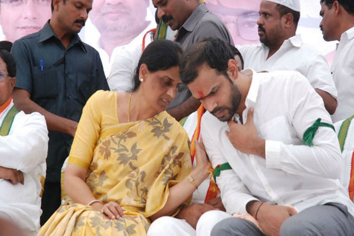 Sabita Lobbies For Son's Seat!