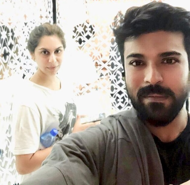 Ram Charan Upasana Private Pics – Exclusive