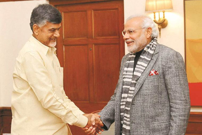 Modi Is My Junior In Politics: Chandrababu
