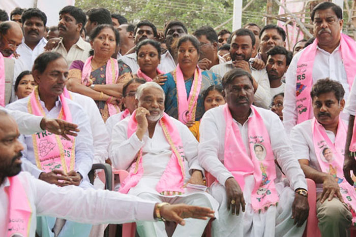 One More Jolt To KCR