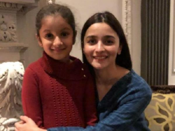 Alia Is The Reason Behind Mahesh's Daughter 'Biggest Smile'