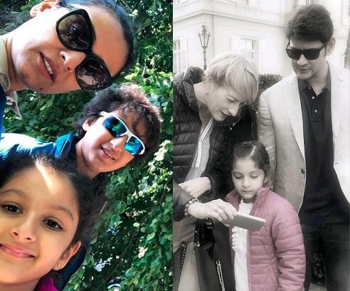 Pics: Mahesh Babu Family Germany Vacation - ManaTeluguMovies net