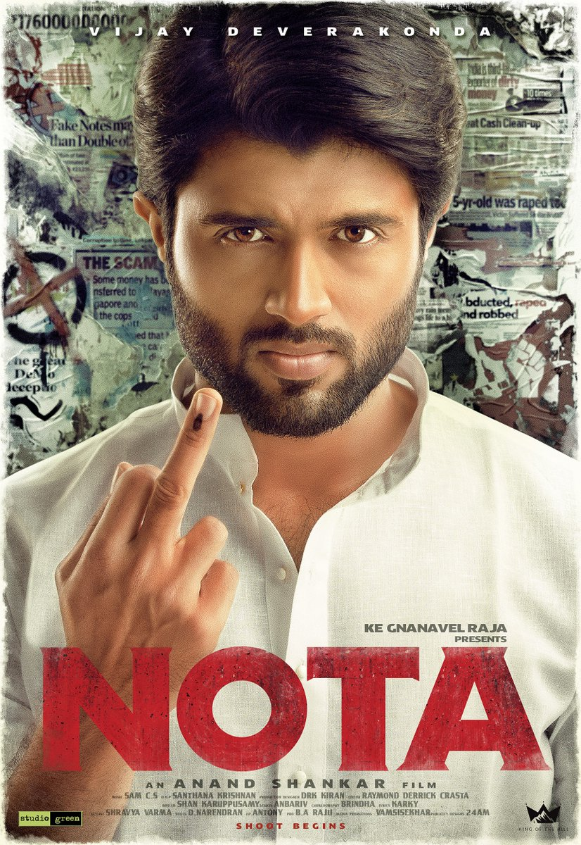 NOTA Moview :  Review