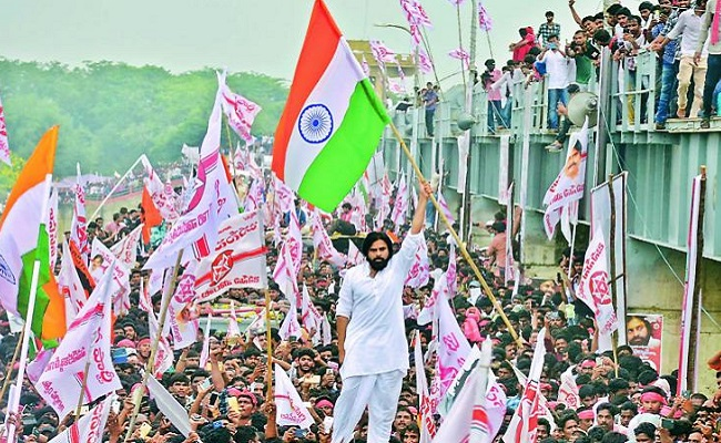 Pics: Pawan's Powerplay On Godavari
