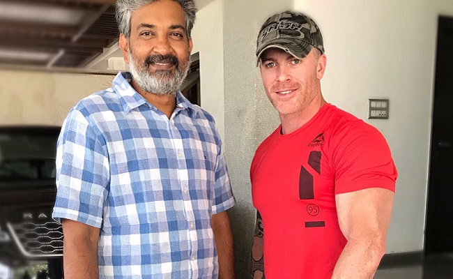 Pic: Rajamouli Begins Working on NTR's Look
