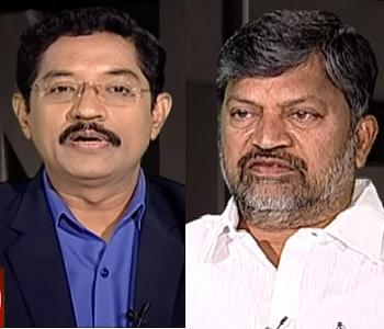 T-TDP leader L.Ramana in Encounter With Murali Krishna