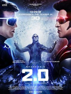 2.0 Movie Review and Rating – Rajanikanth, Akshay Kumar, Amy