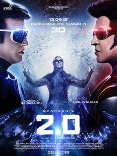 2.0 Movie Review and Rating – Rajanikanth, Akshay Kumar, Amy