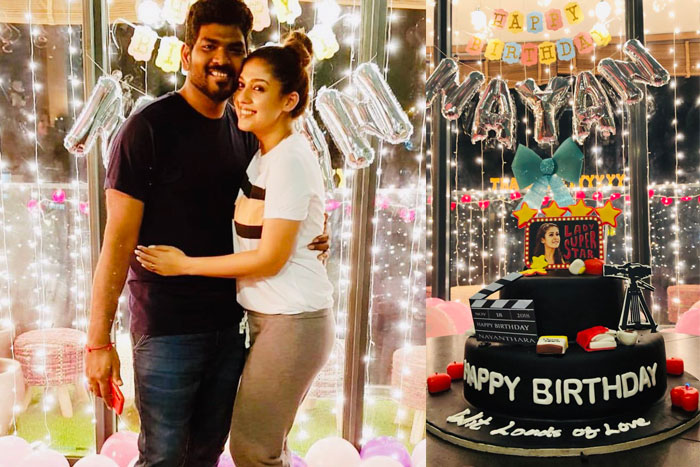 Nayan gets surprise from boyfriend