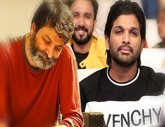 Bunny Waiting For Trivikram