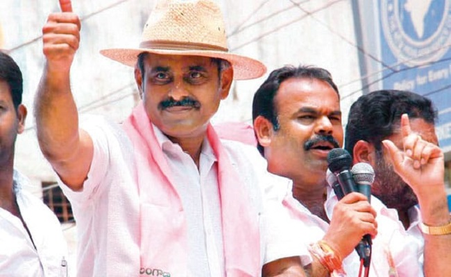 Reddy Consolidation Behind MP Resignation?