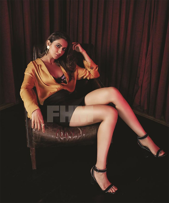 Pic: Rakul, The Captivating Boss Lady