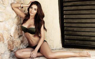 pHOTo: Beautiful Curves Exposed In Two-Piece Bikini