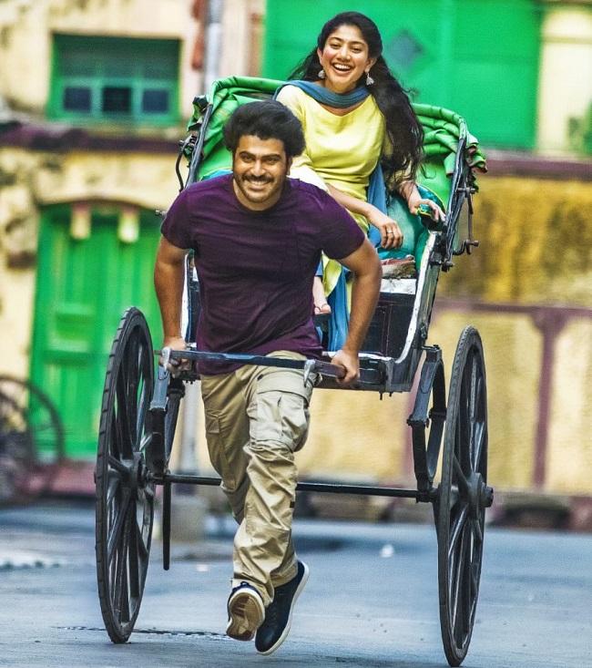 Pic Talk: Sharwa carries Pallavi in a cart!