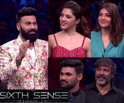 Sixth Sense Season 2 – E2 – 9th Dec with Kajal , Mehrene, Bellamkonda Sinivas, Chota K Naidu