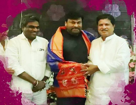 Kukatpally MLA Thanked Chiru For 'Mega' Support