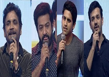 Celebs Speech  @ Mr Majnu Pre Release Event