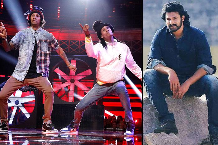 Famous Twins to shake leg with Prabhas