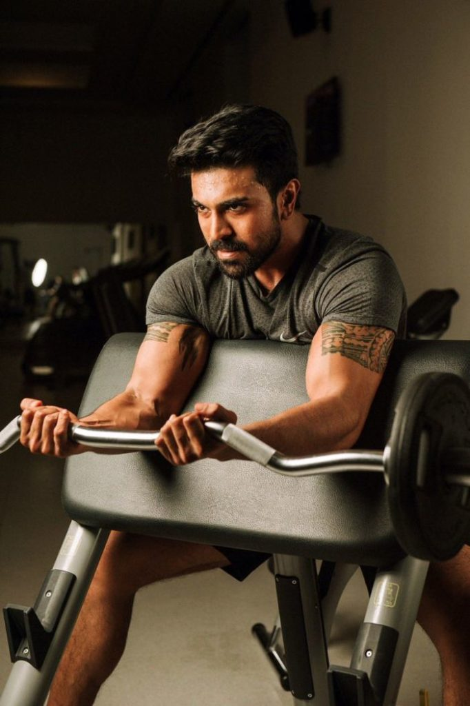 What Did Charan Eat During VVR?