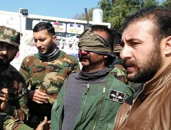 Pics: Indian IAF Wing Commander Abhinandan In Pak Custody