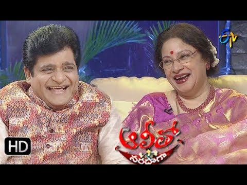 Alitho Saradagaa – 18th Feb With Actress Jayachitra
