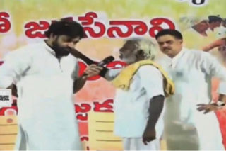 'Please help Jagan to win,' farmer asks Pawan