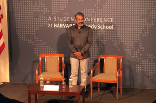 Rajamouli Talks About RRR At Harvard University