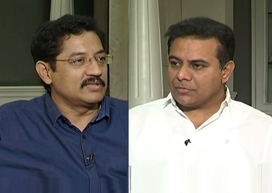 KTR exclusive Interview with Murali Krishna