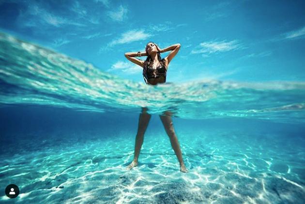 Photo Story: Underwater Feat Of Katrina!