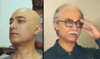 Aamir's drastic makeover left netizens in shock