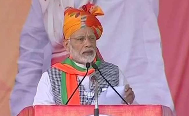'India did not save nuclear weapon for Diwali,' Modi