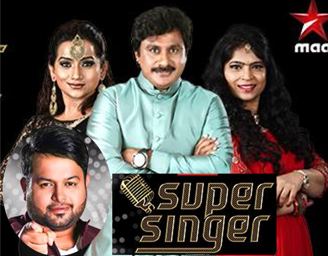 Super Singer Show – E10 – 21st April with Thaman, Raghu,Usha,Kalpana