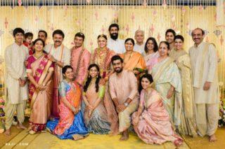 Pics: Venkatesh family at Ashritha Daggubati wedding
