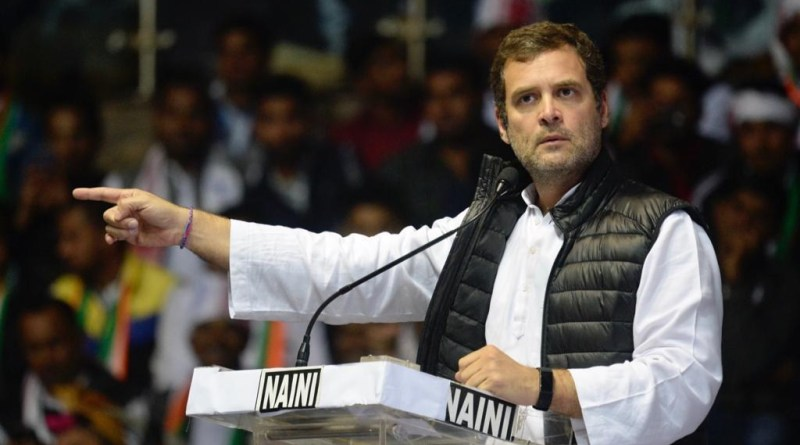 Centre Issues Notice to Rahul Gandhi on citizenship row