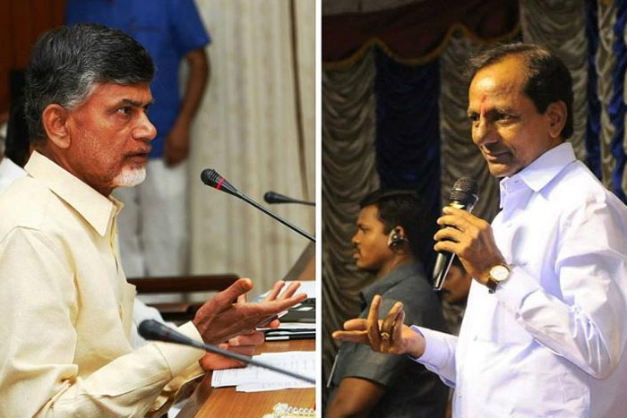 My Fight Is With Babu, Not With AP People: KCR