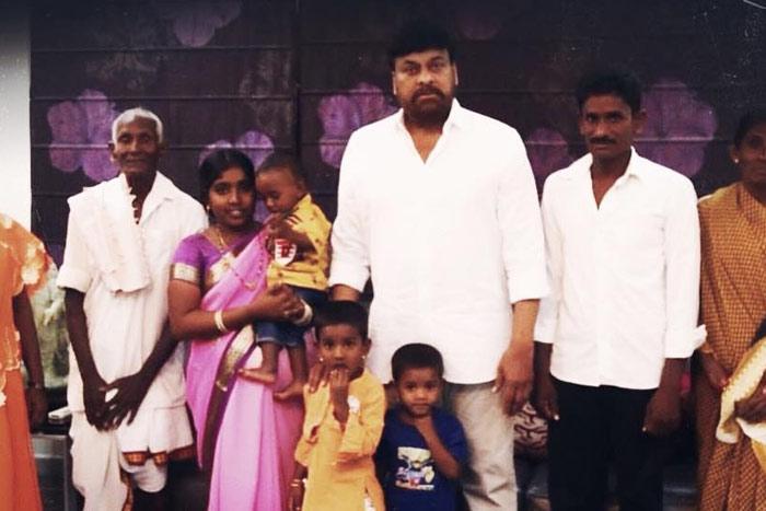 Chiru Names his Fan's Son as 'Pawan Shankar'