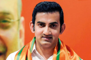 Criminal complaint filed Against Gautam Gambhir by AAP