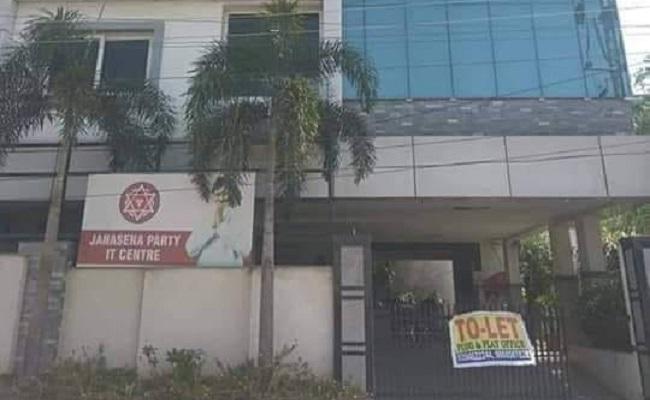 Jana Sena Winds Up IT Wing in Hyderabad