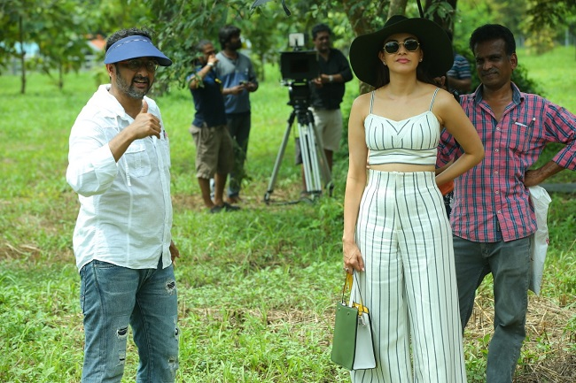 Pic Talk: Kajal with her mentor Teja