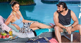 Kareena-Saif romantic pic is out for an ad shoot